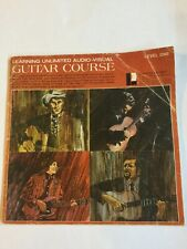 1971 Learning Unlimited Audio Visual Guitar Course Level One
