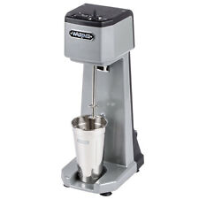 Waring WDM120 Heavy Duty Diecast Metal Single Spindle Drink Mixer Commercial