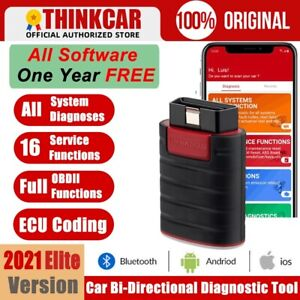 Thinkdiag X431 PRO Car OBD2 Scanner Bidirectional Diagnostic Tool ECU Key Coding