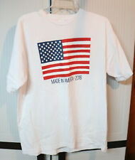 Made In America Usa 2016 Flag Stars and Stripes T-Shirt Mens L Large