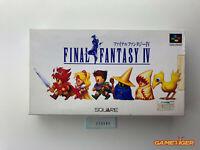FINAL FANTASY IV 4 Nintendo Super Famicom SFC JAPAN Ref:315395