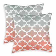 CaliTime Pack of 2 Canvas Throw Pillow Covers Cases for Couch Sofa Home Decor ..