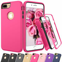 Hybrid Shockproof Rubber Bumper Phone Case Cover For Apple iPhone 8 7 6 6S Plus