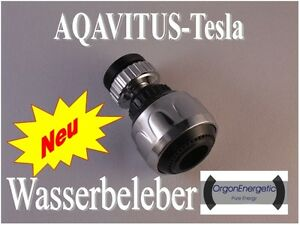 Orgon Energetic Wasserbelebung AQAVITUS TESLA TOP!