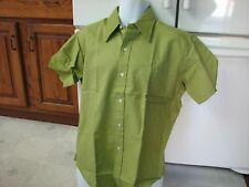 Mr. Jeff 1960s vintage men's casual dress shirt new old stock nwt