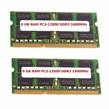 16GB (2 x 8GB) DDR3-RAM So-Dimm for Laptop PC3L-12800 Notebook