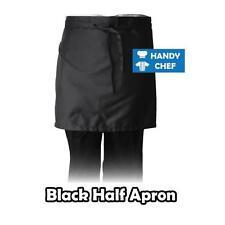 Black Chef Aprons - Chef/ Cafe/ Bistro/ Restaurant/ Waitress -10 Pack $80.00