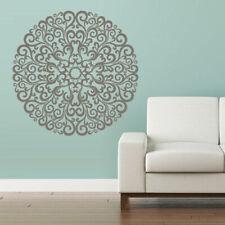 Wall Decal Vinyl Sticker Mandala Menhdi Flower Om Indian Hindu Buddha (Z2856)