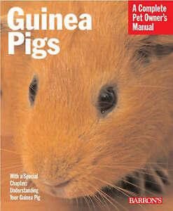 Guinea Pigs (Complete Pet Owner's Manual), New, Immanuel Birmelin Book