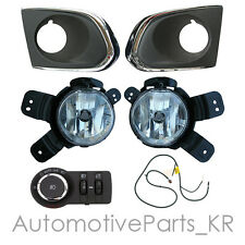 Genuine Fog Lamp Light + Cover + Wiring + Switch Set for Chevrolet 13-2015 Trax