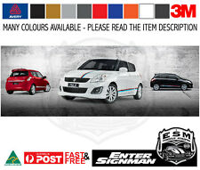 SUZUKI SWIFT ESM RE3 Tri Colour Sticker Decal - Arlon DPF6000XRP Wrap Vinyl