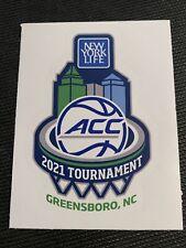 2021 ACC Men's Basketball Tournament Sticker NCAA Greensboro North Carolina
