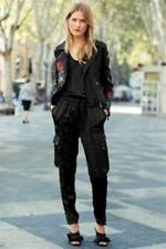 Next Black Shiny Jumpsuit With Pockets Brand New With Tags Casual Chic Size 22R