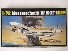 Heller Messerschmitt Bf 109F 1:72 Scale Model Airplane Kit #232