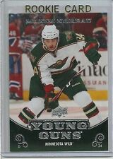 MAXIM NOREAU MINNESOTA WILD 2010-11 UPPER DECK YOUNG GUNS ROOKIE #230