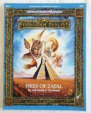 Advanced Dungeons & Dragons Module FMA1 Fires of Zatal TSR 9333 Matzica RARE