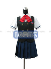 NEW Another Mei Misaki Cosplay Summer Unifrom Costume+Eyemask