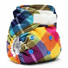 New in Package! Rumparooz One Size Pocket Diaper Hook Loop Aplix - Preppy Plaid
