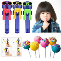 Creative Lollipops Artifact Funny Eating lollipop Robot Holder Stand Gifts Toys