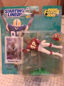 2000-2001 Kenner Starting Lineup NFL Washington Redskins RB Stephen Davis Figure