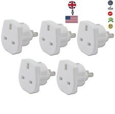 5 x UK to USA, JAPAN, MEXICO CANADA Power Adaptor Plug Converter Travel Adaptor