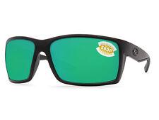 Costa Del Mar Reefton Blackout / Green Mirror 580 Plastic 580P - NEW