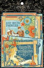 Graphic 45 Journaling & Ephemera Cards World'S Fair Collection