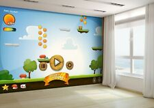 Funny Graphic Platform Game Wallpaper Mural Photo 39339181 budget paper