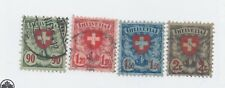 Switzerland SC# 200-3 used VF  - Light cancels Free Shipping Dale