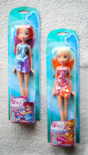 LOT 2 WINX CLUB DOLLS (MUÑECAS): BLOOM & STELLA. NEW ONLINE CONTENT! BNIB!