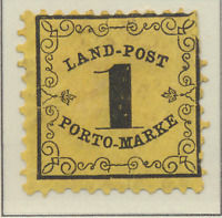 Baden (German State) Stamp Scott #LJ1, Unused