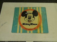 Vintage Walt Disney Mickey Mouse Record Player Sears by General-Electric *PARTS*