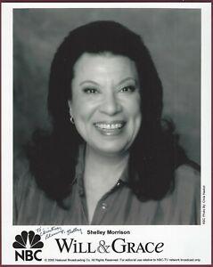 Shelley Morrison, Schauspielerin, Signiert 20.3cm x 25.4cm Foto, COA, Uacc Rd