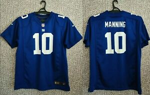 New York Giants Eli Manning #10 NFL Nike on Field Jersey Shirt Youth Size XL