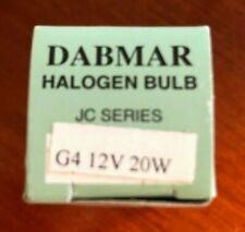 Dabmar Halogen Bulb - New in Box (Old Stock) Lot of 43 - JC Series G4 12V 20W