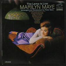 MARILYN MAYE: The Lamp Is Low LP (Mono, tobc) Vocalists