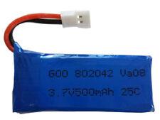 Battery 500mAh 3,7V Li-po for drone helicopter Syma Hubsan JJRC 802042