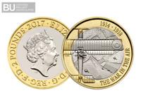 2017 UK WWI Aviation CERTIFIED BU £2 [Ref 755C]