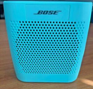Bose Soundlink Bluetooth Portable Speaker Model #415859 Teal Color