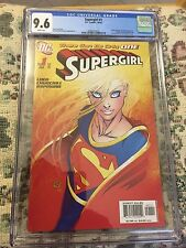 Supergirl #1 CGC 9.6 White Pages