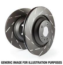 EBC Brakes USR7427 EBC USR Series Sport Slotted Rotor Fits 06-17 FX35 FX45 QX70