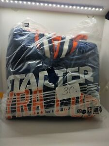 Vintage 90s Satin Starter Jacket University Of Syracuse Size Medium Sealed Never