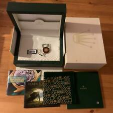 Genuine Rolex Submariner Box with Booklet, Tag, Handkerchief