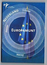 5 euro 2004 Europamunt zilver Proof Vijfje Nederland IN BLISTER