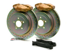BREMBO Rear GT Brake 2Pot Gold 316x20 Drill Disc for WRX 08-14 Legacy 2.5i 10-14