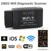 ELM327 WIFI OBD2 OBDII Auto Car Diagnostic Scanner Scan Tool For iOS Android US