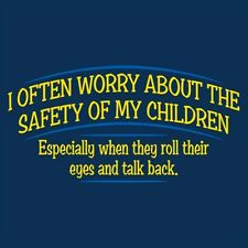 I Often Worry About The Safety of My Children - Mens XL T-Shirt