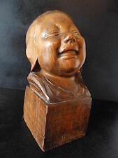 Bébé Bois Sculpté XX Signé A CAPPELLETTI Baby Carved Wood Bambino Italie art