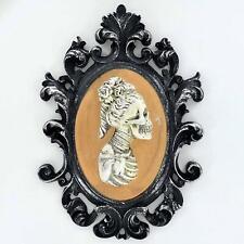 More details for female skeleton figure portrait gothic style decoration halloween