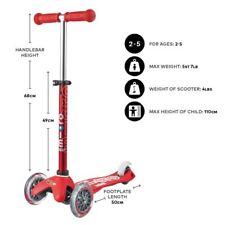 MINI MICRO DELUXE Scooter Rosso
